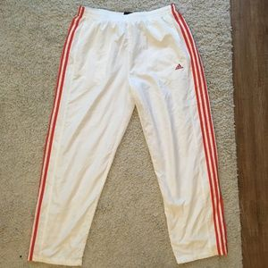 Adidas Zip-Ankle Retro-Style Sweatpants (L)